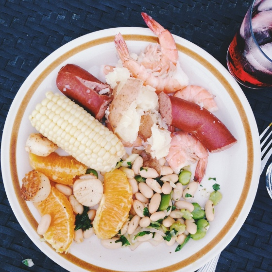delicious low country boil