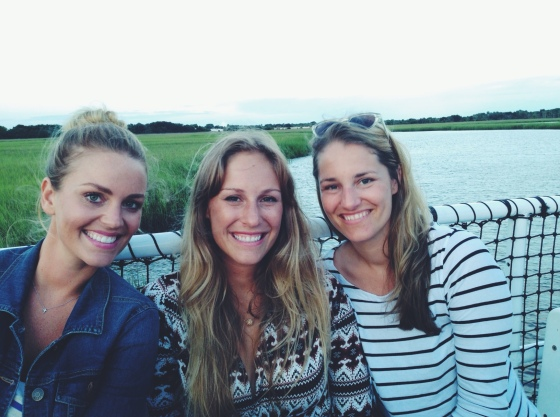 sunset cruise around cumberland island